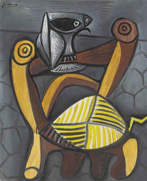 sur chaise pablo picasso 1881 1973 le hibou sur la chaise