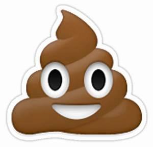"""Emoji Poo"" Stickers by emoji- Redbubble"