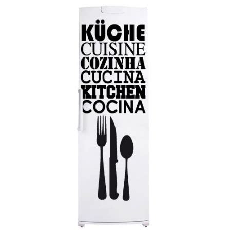 cuisine traduction stickers frigo cuisine traduction stickers malin