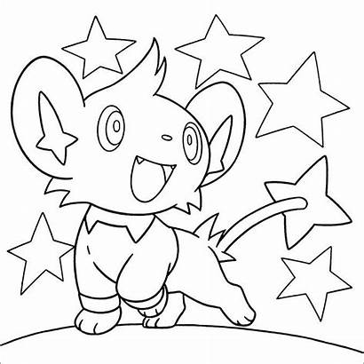 Pokemon Coloring Pages Colouring Printable Pearl Diamond