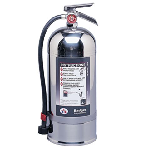 badger class  wet chemical  fire extinguisher mmfss