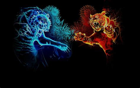 abstract tigers hd wallpaper hd wallpapers