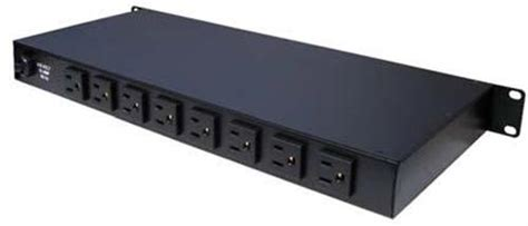 rack mount surge protector cabletronix 9 outlet rack mount power with surge ct