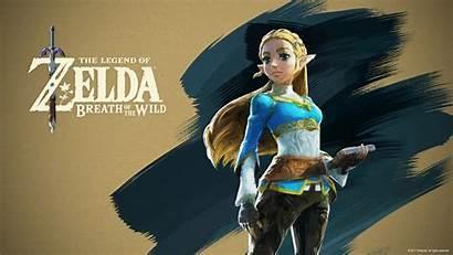Zelda Princess Breath Wild Legend Wallpapers Desktop