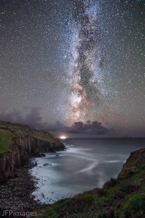 Milky Way Over Cornwall Rebrn