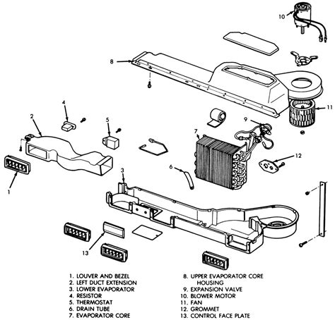 1987 Jeep Heater Wiring by Repair Guides Heating And Air Conditioning Blower