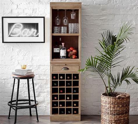 Modular Bar With Cabinet Tower by Modular Bar Towers Pottery Barn