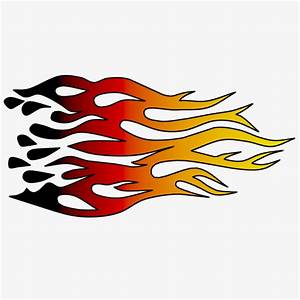 Flames racing flame clip art at clker vector clip art ...