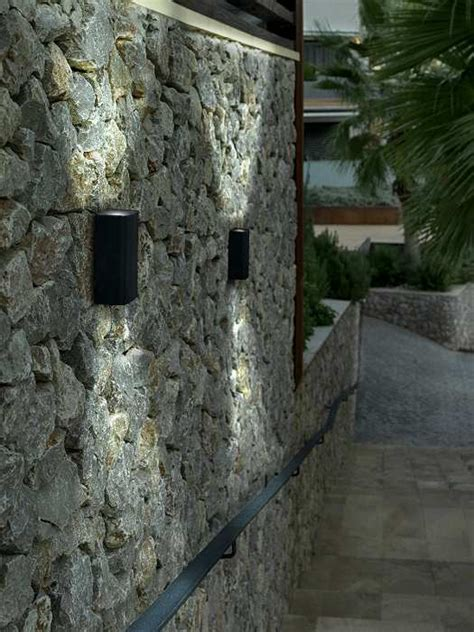 led exterior up and wall light