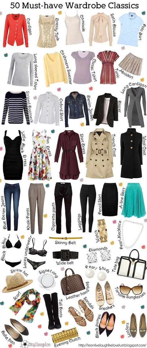 Must Haves In Your Closet by Pin By On The Quot Must S Quot For My Closet