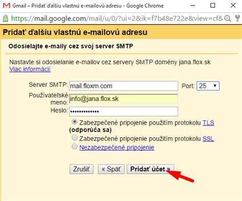 Smtp Gmail 25 by Po紂tov 253 Klient Gmail