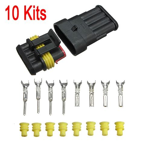 Best Promotion Set Car Auto Pin Way Sealed Waterproof