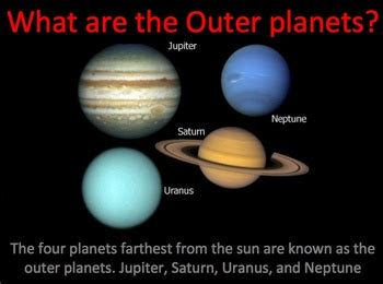 outer planets of the solar system interactive power point