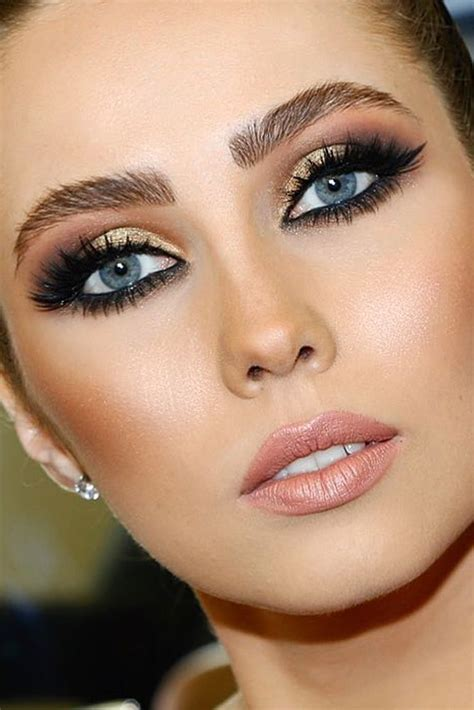 wedding makeup ideas  blue eyes wedding makeup
