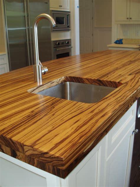 wood and butcher block kitchen countertops hgtv