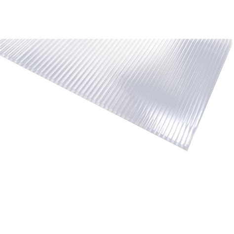 sunlite 24 in 48 in 5 in polycarbonate clear