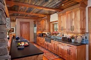 Rustic, Galley, Kitchen