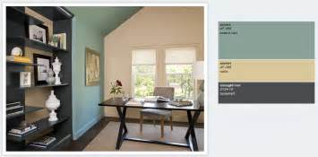 Torn On The Kitchen Has A Country Vintage Feel So Maybe This Color Un Bureau Simple Et L Gant Aux Couleurs Sombres Se D Tachant Sur On Silver Strand Paint Color On Best Wall Colors For Dining Room Creative Color Consulting Home Office Clinic Exterior Paint Colors