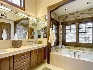 Bloombety Modern Style Rustic Bathroom Design Vanities