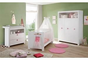 Babyzimmer Komplett Mädchen : komplett babyzimmer trend babybett wickelkommode kleiderschrank 3 tlg in wei online ~ Indierocktalk.com Haus und Dekorationen