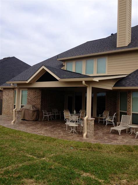 lowen patio cover patio covers katy tx patio builder
