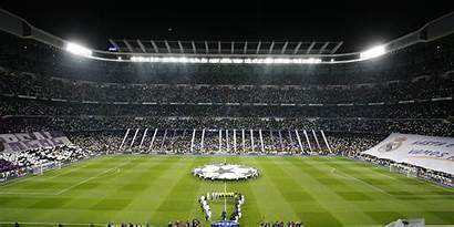 Madrid Stadium Bernabeu Champions League Santiago Uefa