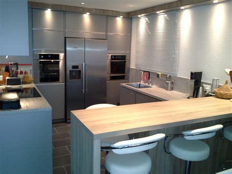 cuisine frigo cuisine avec frigo noir solutions pour la décoration intérieure de votre maison