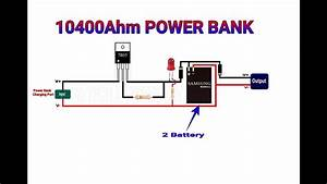 How To Make Power Bank From Old Mobile Battery