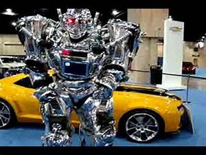 Real TRANSFORMER Car With KING ROBOTA - YouTube