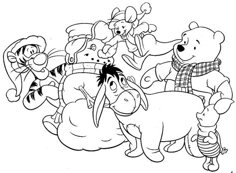disney christmas coloring pages  coloring pages  kids