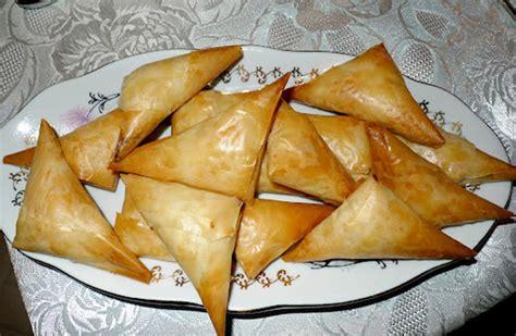 cuisine du poisson recette des triangles de brick au fromage grec