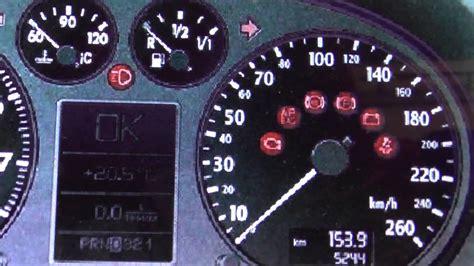 audi  p dashboard warning lights symbols