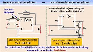 Operationsverstärker Berechnen : elektronik tutorial 09 operationsverst rker youtube ~ Themetempest.com Abrechnung