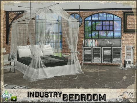 sims resource bedroom industry  buffsumm sims