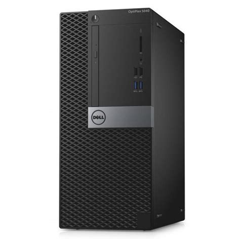 ordinateur de bureau dell ordinateur de bureau dell optiplex 5040 mt s008o5040mtedb
