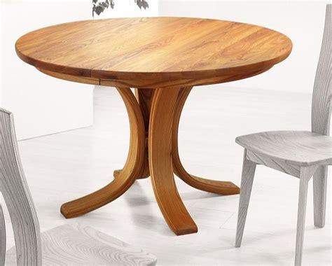 table ronde cuisine table de cuisine ronde en bois table ronde en bois avec rallonge maison boncolac