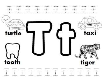 letter t worksheets by kindergarten swag teachers pay 133 | original 3264427 1