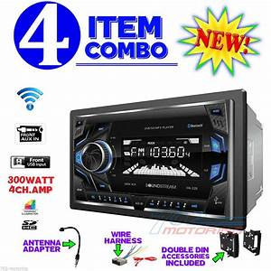 Chrysler Jeep Dodge Power Acoustik Double Din Radio Stereo