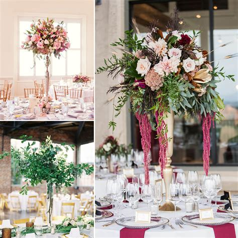 Tall Extravagant Centerpieces Inspiration Fiftyflowers