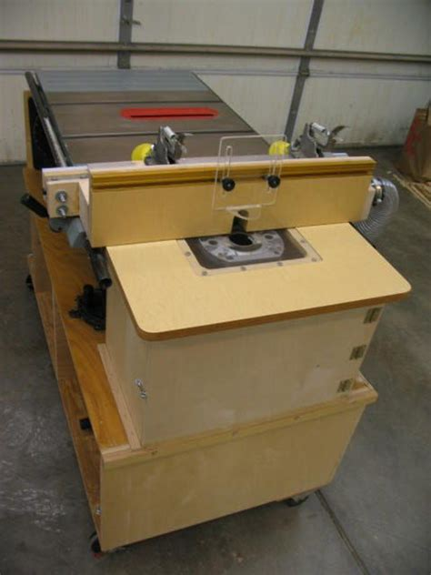 table  router table combo plans woodworking projects