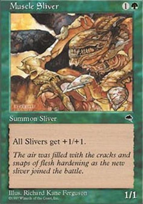 magic the gathering sliver deck legacy sliver aggro legacy mtg deck
