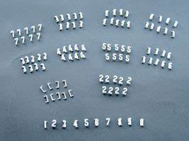 1 1 2 inch gothic number kit cdl 4143 alphabet signs With davson quartet letter board