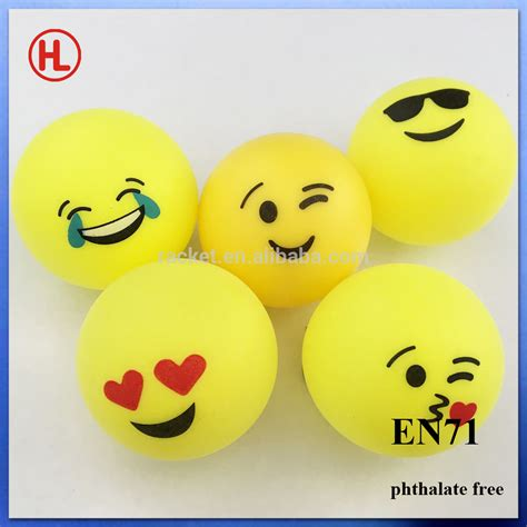 emoji 201 motic 244 ne bi 232 re pong balles pas cher couleur personnalis 233 e logo ping pong balle tennis de