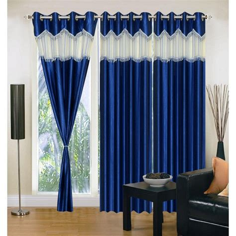 Curtain Rod Set India by Buy Set Of 3 Iws Designer Quot 7 Quot Window Curtain