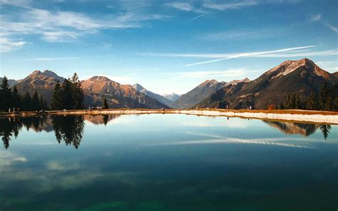 Scenery Picture by Nx48 Lake Summer Mountain Nature Wallpaper