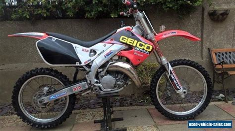 honda cr 125 1999 honda cr 125 for sale in the united kingdom