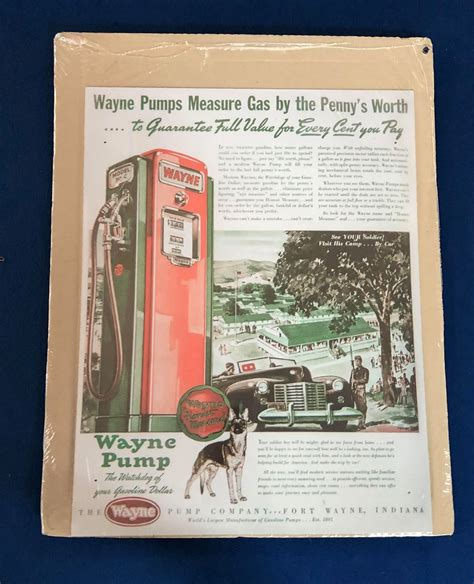 wayne measures pumps sign