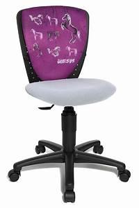 Chaise Pour Bureau : chaise de bureau ergonomique cheval pour fille ~ Teatrodelosmanantiales.com Idées de Décoration