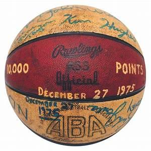 ABA Basketball Teams   ... ABA Basketball Autographed by ...