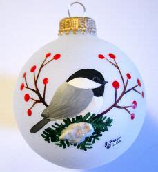 jeanne rae crafts hand painted glass ball ornaments